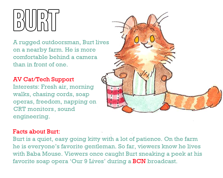 Character profile New Burt