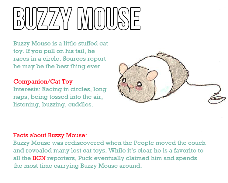 Character profile New Buzzy Mouse