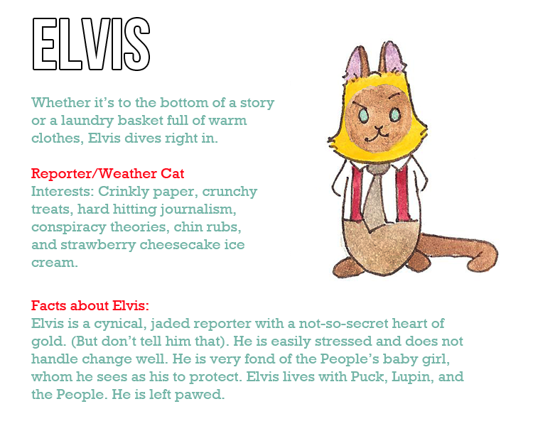 Character profile New Elvis