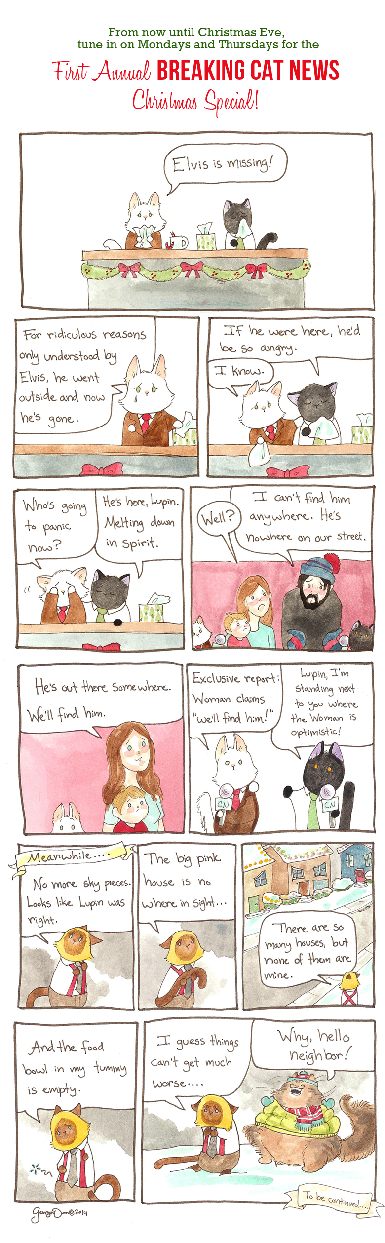 Breaking Cat News Christmas Special Part Two
