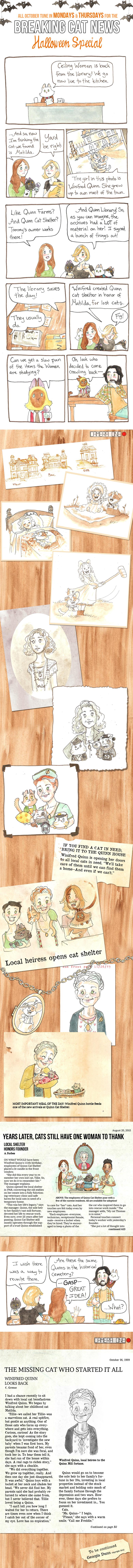 Breaking Cat News Halloween Special Part Eight