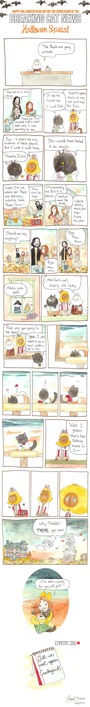 Breaking Cat News Halloween Special Part Nine