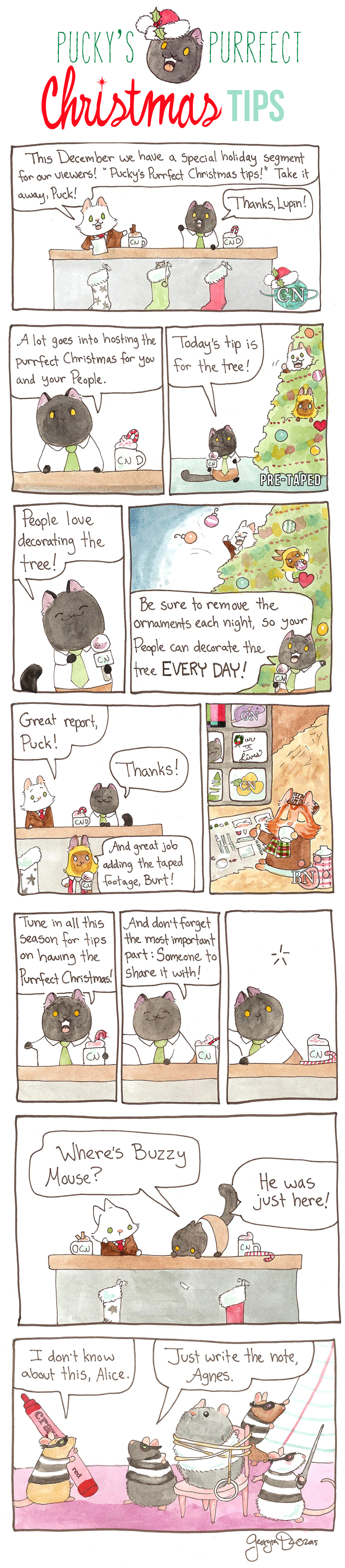 Pucky's Purrfect Christmas Tips Part One