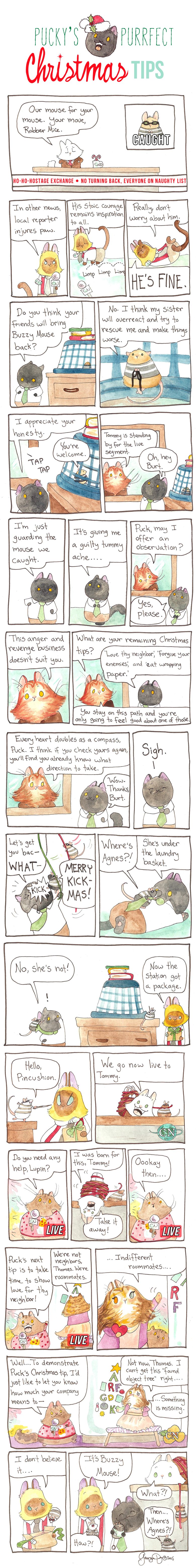 Pucky's Purrfect Christmas Tips Part Five