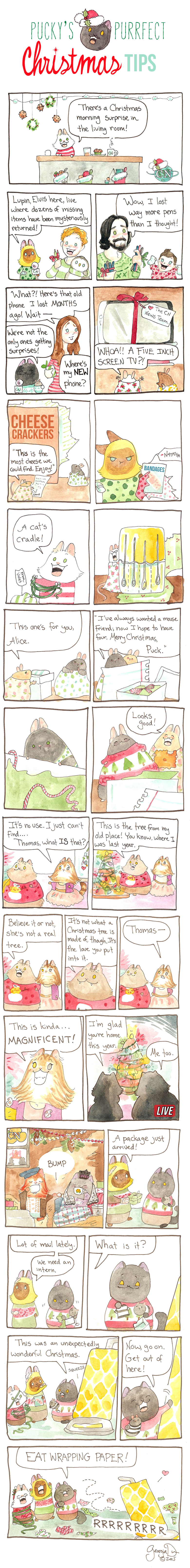 Pucky's Purrfect Christmas Tips Part Seven